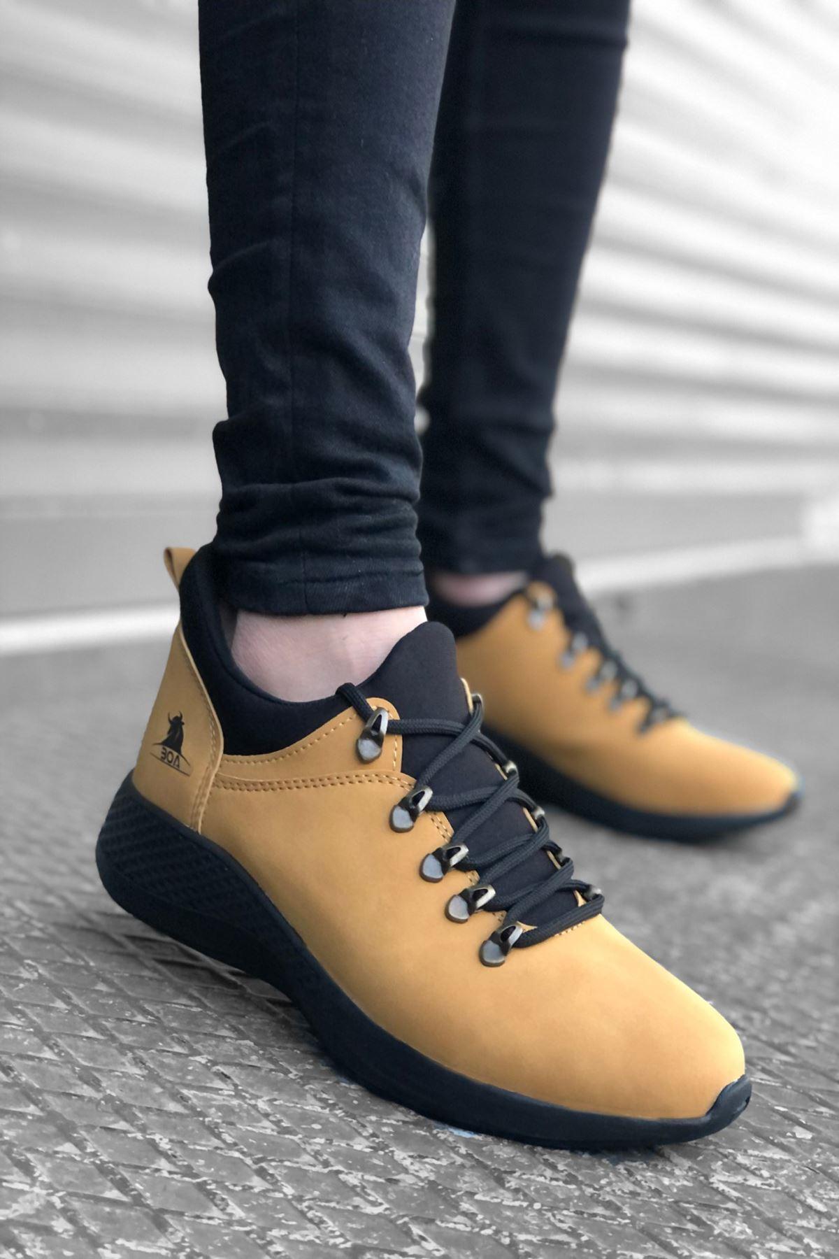 B601 Cemal ST Bağcıklı Erkek Sneakers