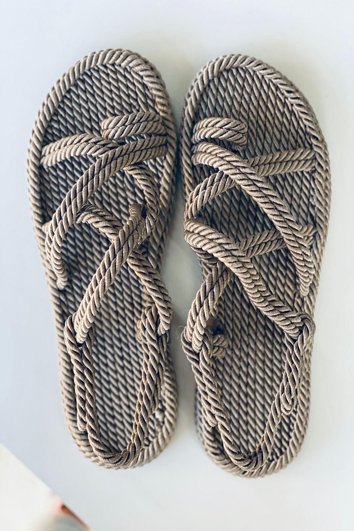 YRPH01 Vizon Halat Sandalet