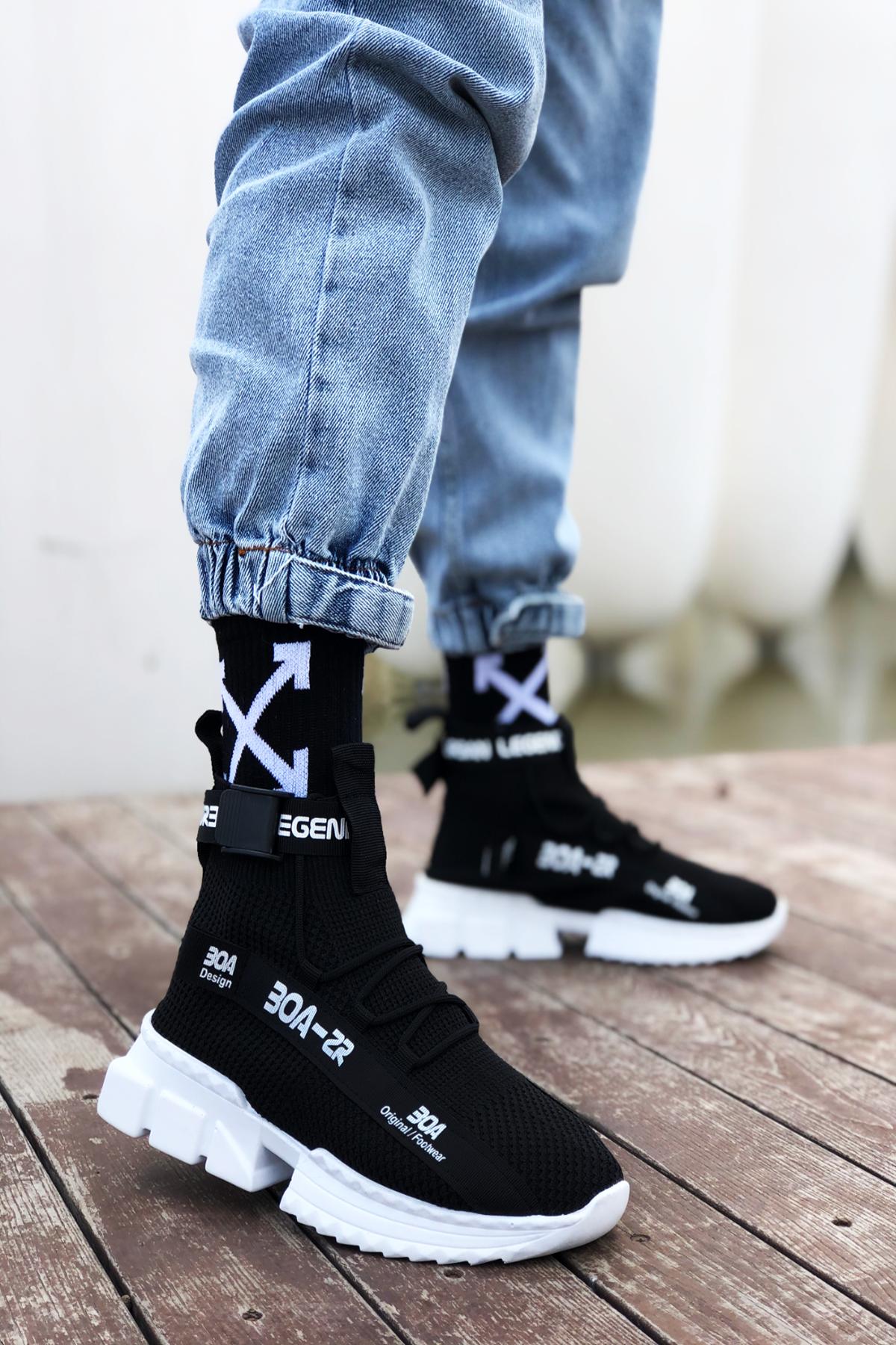 B700 Siyah BT Erkek Sneakers