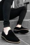 B009 Siyah Süet Klasik Ayakkabı