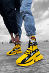 B700 Hardal Erkek Sneakers