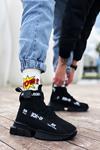 B700 Siyah Erkek Sneakers