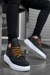 B606 Siyah Kırcalı BT Sneaker