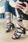 Y2008 Siyah Topuklu Ayakkabı